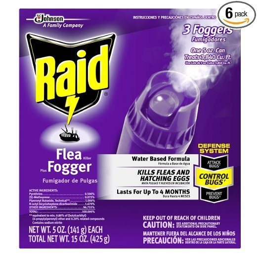 Raid Flea Killer Plus Fogger